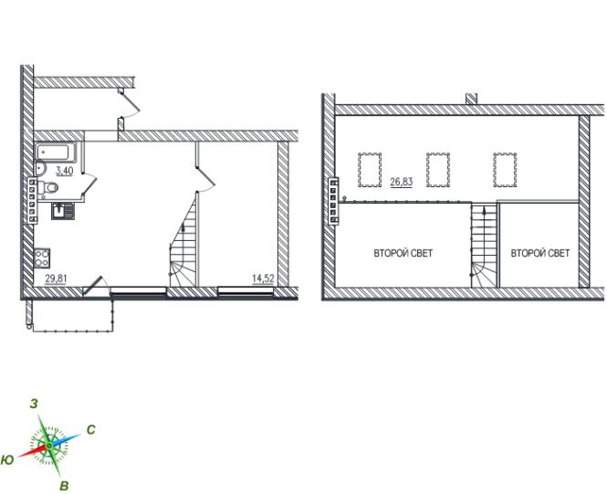 2-комнатная